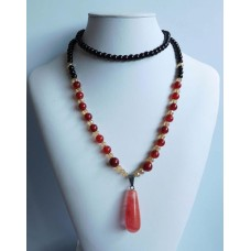 Natural stone jade Agate Necklaces
