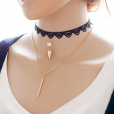 Multi-Layer Tattoo Choker Necklace